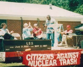 CANTs Victory celebration in Forest Grove Louisiana 1997