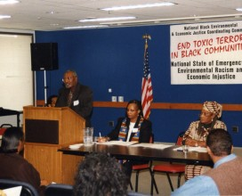Bullard speaking at Emergeny meeting in New Orleans 2005