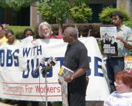 Jobs with Justice Campaign, Atlanta, GA 2005