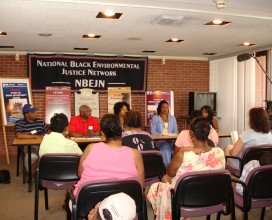 NBEJN Press briefing toxic tour in Detroit, MI 2007