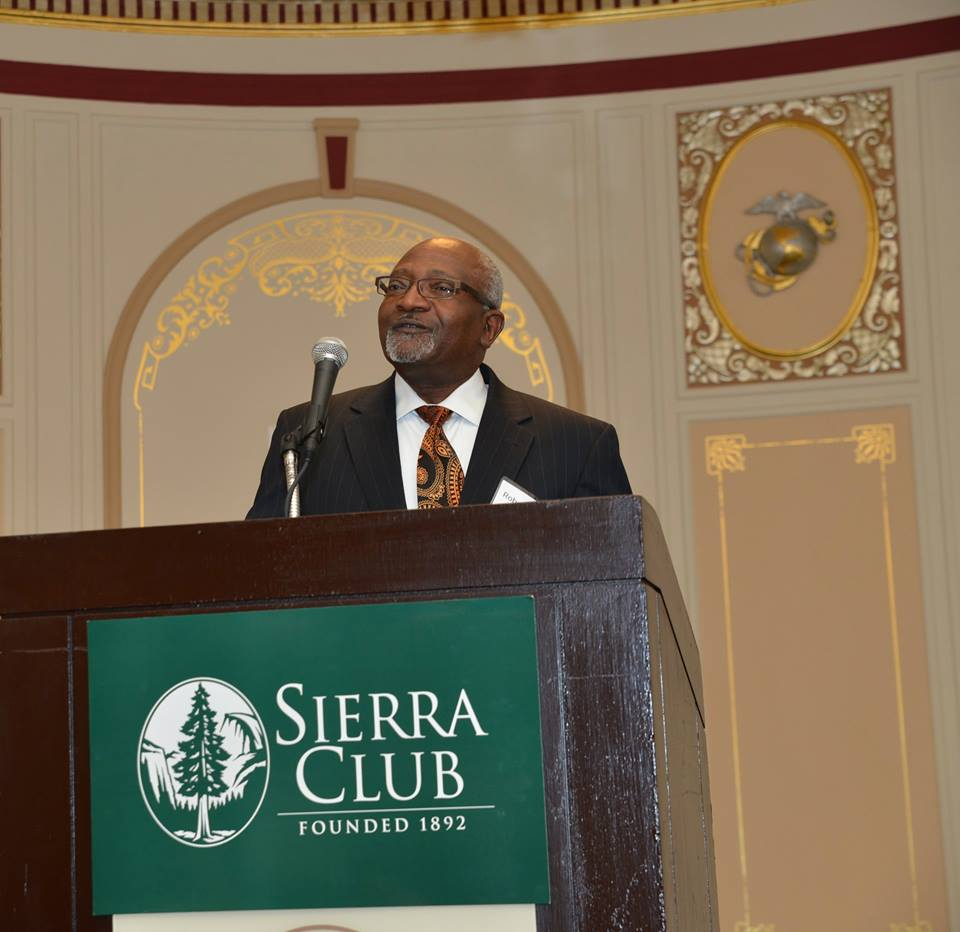 Dr RD Bullard at Sierra Club Awards Event10270537_1453286098264045_3152377434456359477_n