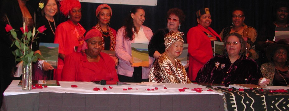 Women of Color Award EJ Summit II 2002